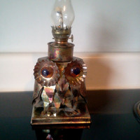 Copper Owl Lantern