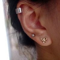 Silver Ear Cuff