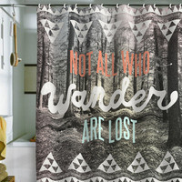 DENY Designs Home Accessories | Wesley Bird Wander Shower Curtain