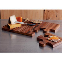 Puzzle Serving Board | Rain Collection