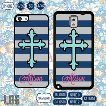 Monogram iPhone 6 case custom samsung S4 cover iPhone 5 4S 5C S5 note 3