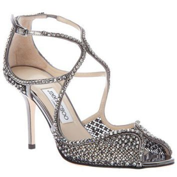 Jimmy Choo Diamante Embellished Sandal
