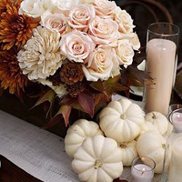 MAKE THIS / autumn tablescape