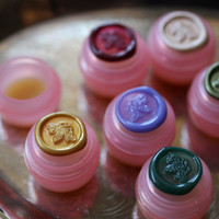 Handmade Solid Natural Perfume Minis, customize your set of six samples