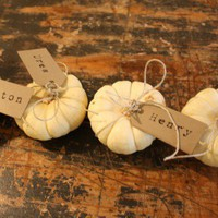 MAKE THIS / Thanksgiving place cards