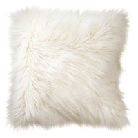 Home Fur Toss Pillow - Cream