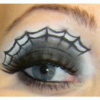 The perfect make up !!! (Halloween Spider Makeup)