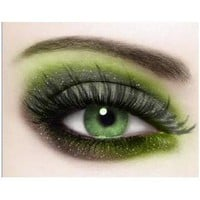 The perfect make up !!! (Makeup For Green Eyes 1)