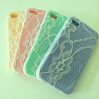Lace phone case for iPhone 4/4s