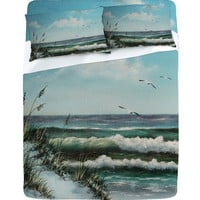DENY Designs Home Accessories | Rosie Brown Beach Dunes Sheet Set