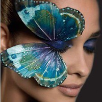 The perfect make up !!! (Butterfly Eye)