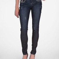 Grace In LA Animal Print Skinny Stretch Jean