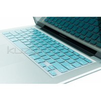 "Kuzy - METALLIC AQUA BLUE Keyboard Cover Silicone Skin for MacBook Pro 13"" 15"" (with or w/out Retina Display) iMac and MacBook Air 13-inch - Aqua"