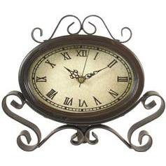 Metal & Wood Table Clock - Hobby Lobby