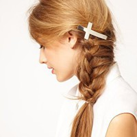 ASOS Cross Hair Barrette at asos.com