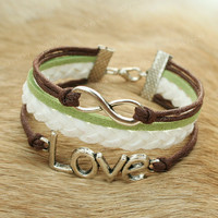 Love Bracelet-Infinity love bracelet-Infinity bracelet- Gift for girl friend