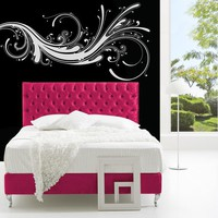 Vinyl Wall Sticker Decal Art  Modern Swirl by urbanwalls on Etsy