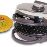 VillaWare Professional Waffler Classic Round 3000