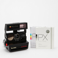 Vintage Polaroid 600 Camera Kit By Impossible Project - Black One