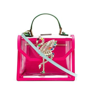 PVC Flamingo Acapulco Bag - SHOUROUK