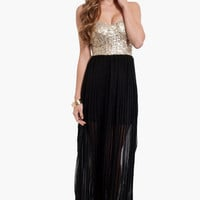 Giselle Sequin Maxi Dress $47