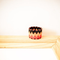 Africa Tribal geometric zig zag pattern band ring. Custom ring tbteam