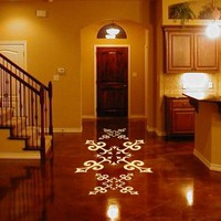 ShaNickers Floor Decal\/Sticker-SPANISH TILE MOTIF 42 inches--Free Shipping