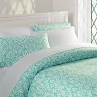 Damask Duvet Cover &amp;amp; Pillowcases