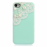 Lace with Pearl Iphone 4/4s Case