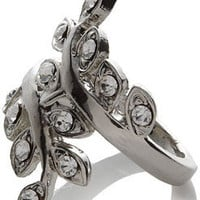 Ivy Vine Sparkle Ring at Accessorize