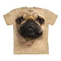 Big Face Pug T-Shirt at Firebox.com