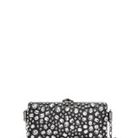 MANGO - NEW! - TOUCH - Decorative crystals clutch