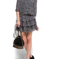 MANGO - CLOTHING - Dresses - Printed flounced dress
