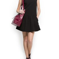 MANGO - CLOTHING - Dresses - Flared knit dress