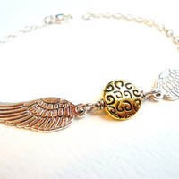 Chic Harry Potter Golden Snitch Bracelet