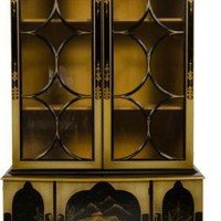 One Kings Lane - Grace Home Furnishings - Vintage Chinoisere China Cabinet