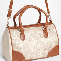 Pretty Lace Duffel Bag