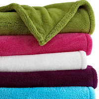 Berkshire Blanket, Fluffy Soft Throw - Blankets & Throws - Bed & Bath - Macy's