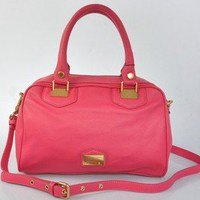 auth Marc by marc jacobs real leather pink handbag