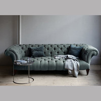 canvas ? Chesterfield Sofa
