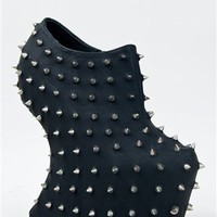 GODDESS-06 Spike n Stud Heel Less Bootie | Shop Shoes