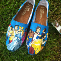Princess Hand-painted Toms