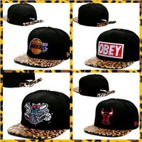 Leopard Print Strapbacks MORE STYLES ADDED