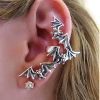 Bat Ear Cuff ( no piercing needed)