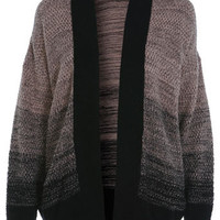Ombre Boyfriend Cardi - View All  - Knitwear