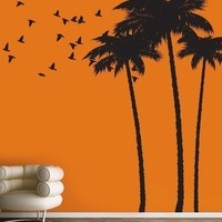 Vinyl Wall Sticker Decal Art  Palm Tree by urbanwalls on Etsy