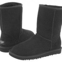 Black Classic Short UGG Boots [5825 Black] - $76.69 :