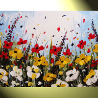 Original 36x24 Large Oil Painting on Canvas by ChristineKrainock