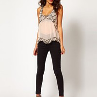 Lipsy Embellished Top at asos.com
