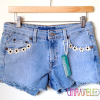 Cut Off Jean Shorts Levis (SMALL) // 2005